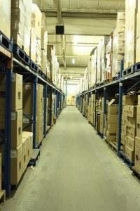 almacenamiento de mercancía
