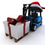 transporte en navidad